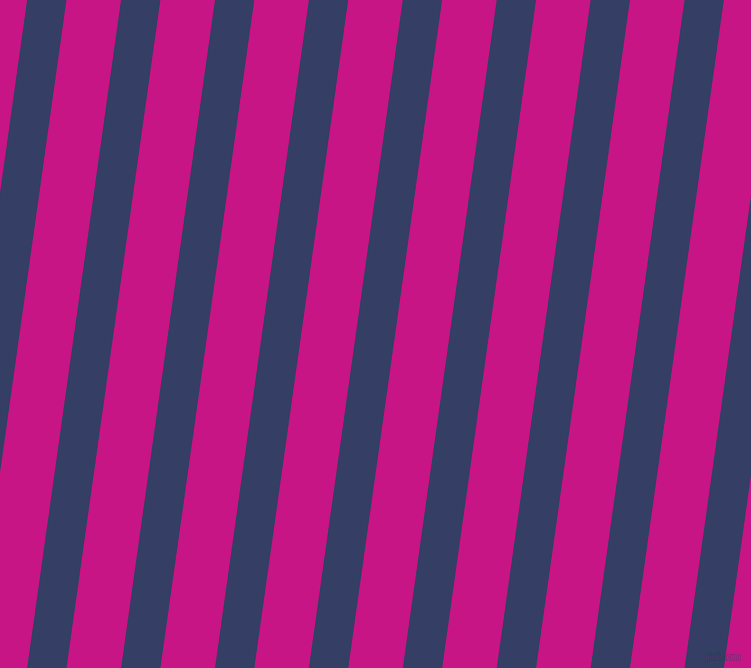 82 degree angle lines stripes, 39 pixel line width, 54 pixel line spacing, Bay Of Many and Medium Violet Red angled lines and stripes seamless tileable