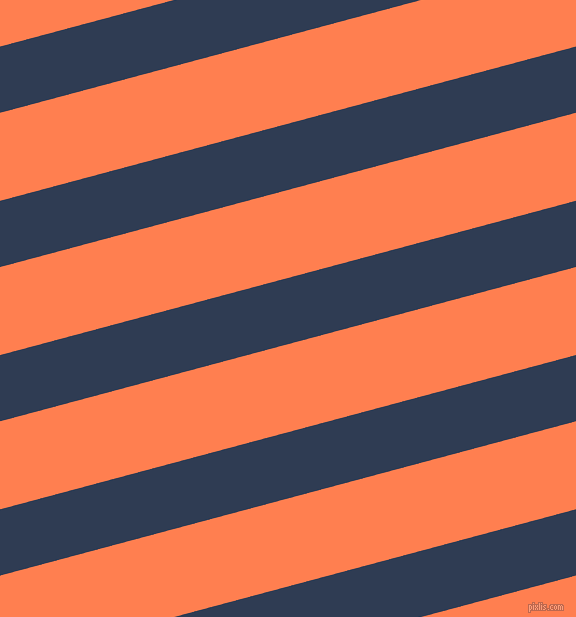 15 degree angle lines stripes, 64 pixel line width, 85 pixel line spacing, Biscay and Coral angled lines and stripes seamless tileable
