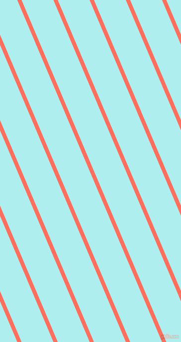 113 degree angle lines stripes, 8 pixel line width, 59 pixel line spacing, Bittersweet and Pale Turquoise angled lines and stripes seamless tileable
