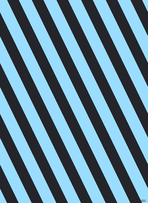 116 degree angle lines stripes, 35 pixel line width, 39 pixel line spacing, Black Russian and Columbia Blue angled lines and stripes seamless tileable