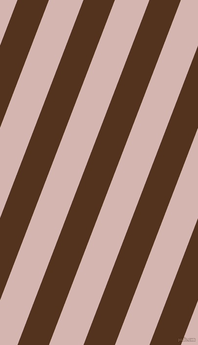 69 degree angle lines stripes, 60 pixel line width, 66 pixel line spacing, Brown Bramble and Oyster Pink angled lines and stripes seamless tileable