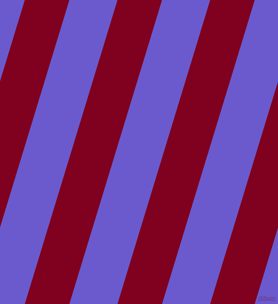 73 degree angle lines stripes, 88 pixel line width, 95 pixel line spacing, Burgundy and Slate Blue angled lines and stripes seamless tileable