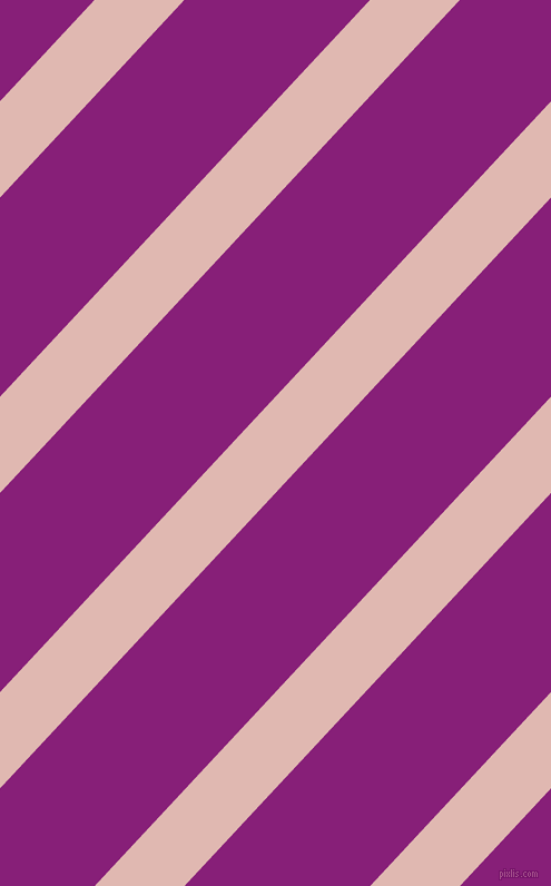 47 degree angle lines stripes, 59 pixel line width, 122 pixel line spacing, Cavern Pink and Dark Purple angled lines and stripes seamless tileable