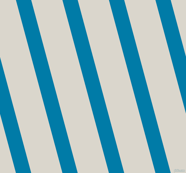 105 degree angle lines stripes, 49 pixel line width, 100 pixel line spacing, Cerulean and White Pointer angled lines and stripes seamless tileable