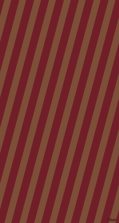 75 degree angle lines stripes, 23 pixel line width, 27 pixel line spacing, Cigar and Red Berry angled lines and stripes seamless tileable
