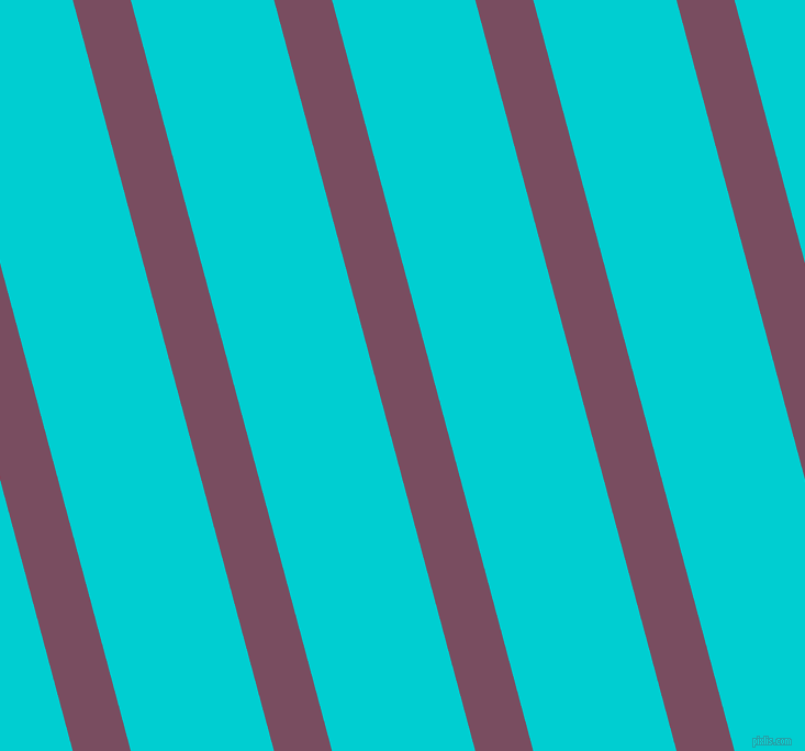 105 degree angle lines stripes, 51 pixel line width, 126 pixel line spacing, Cosmic and Dark Turquoise angled lines and stripes seamless tileable