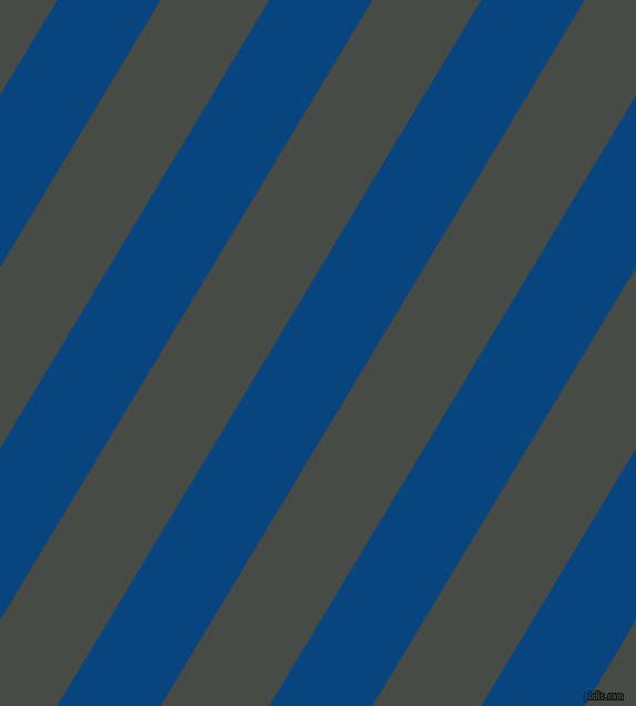 59 degree angle lines stripes, 80 pixel line width, 84 pixel line spacing, Dark Cerulean and Armadillo angled lines and stripes seamless tileable