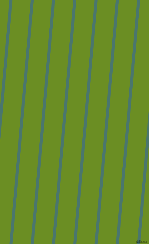 85 degree angle lines stripes, 10 pixel line width, 60 pixel line spacing, Dark Green Copper and Olive Drab angled lines and stripes seamless tileable