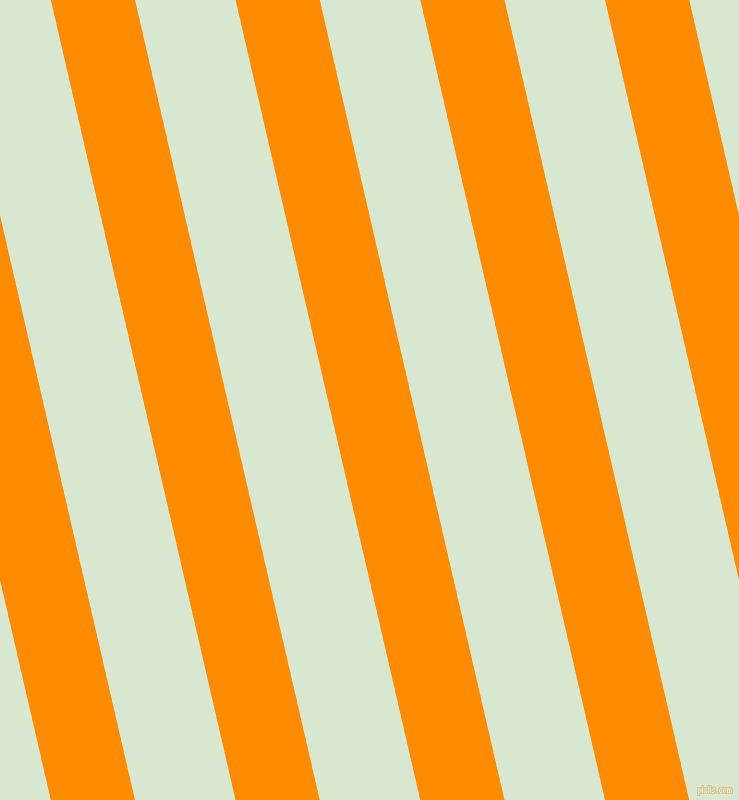 103 degree angle lines stripes, 82 pixel line width, 98 pixel line spacing, Dark Orange and Peppermint angled lines and stripes seamless tileable