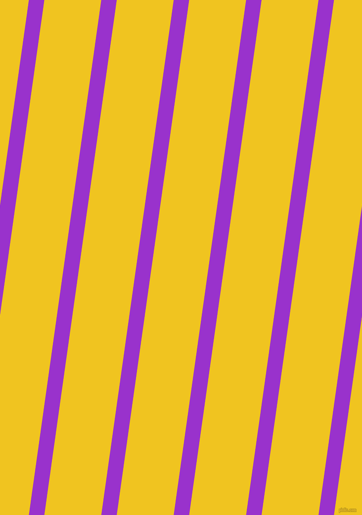 82 degree angle lines stripes, 31 pixel line width, 114 pixel line spacing, Dark Orchid and Moon Yellow angled lines and stripes seamless tileable