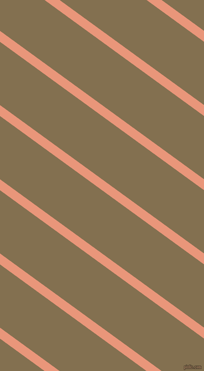 144 degree angle lines stripes, 18 pixel line width, 104 pixel line spacing, Dark Salmon and Shadow angled lines and stripes seamless tileable