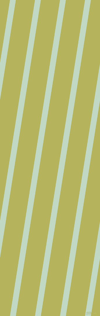 81 degree angle lines stripes, 20 pixel line width, 65 pixel line spacing, Edgewater and Olive Green angled lines and stripes seamless tileable