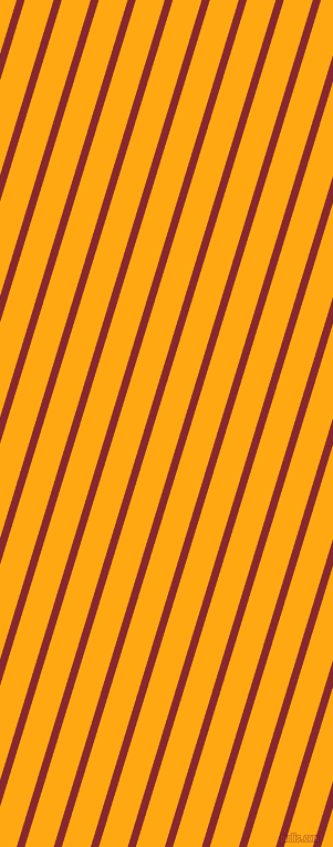 73 degree angle lines stripes, 7 pixel line width, 25 pixel line spacing, Flame Red and Dark Tangerine angled lines and stripes seamless tileable
