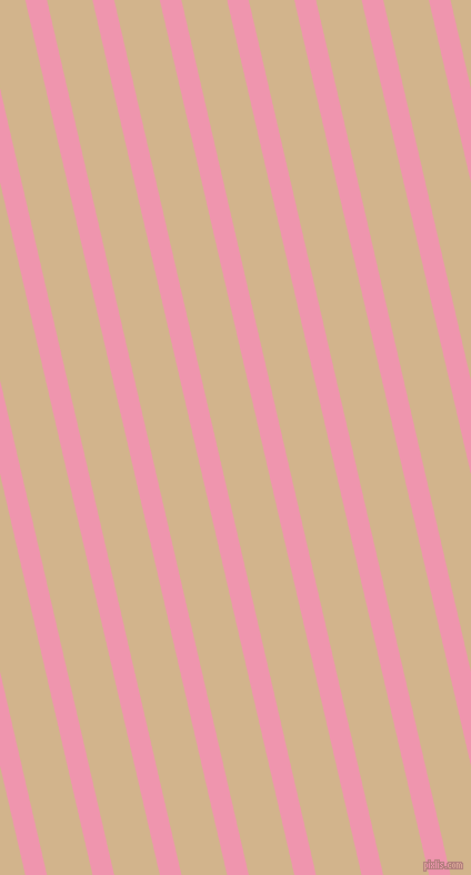 103 degree angle lines stripes, 19 pixel line width, 40 pixel line spacing, Illusion and Tan angled lines and stripes seamless tileable