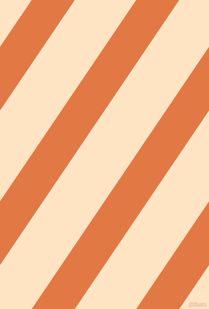 56 degree angle lines stripes, 73 pixel line width, 104 pixel line spacing, Jaffa and Bisque angled lines and stripes seamless tileable