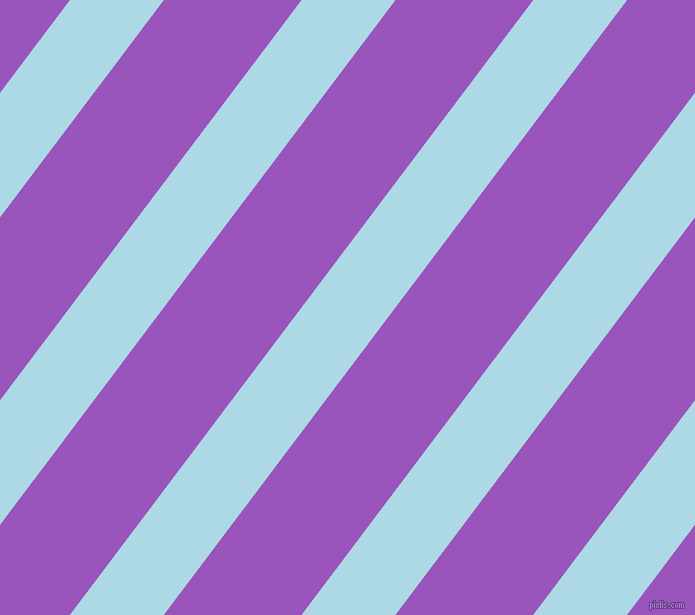 53 degree angle lines stripes, 75 pixel line width, 110 pixel line spacing, Light Blue and Deep Lilac angled lines and stripes seamless tileable