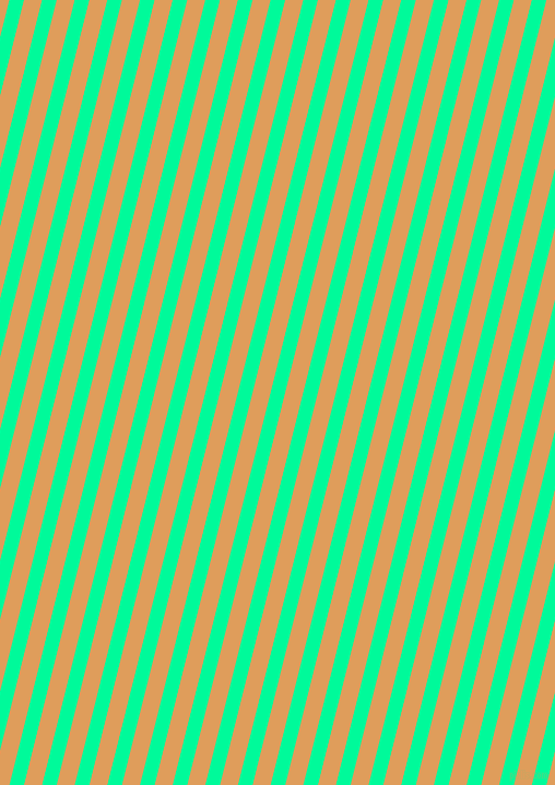 76 degree angle lines stripes, 13 pixel line width, 16 pixel line spacing, Medium Spring Green and Porsche angled lines and stripes seamless tileable