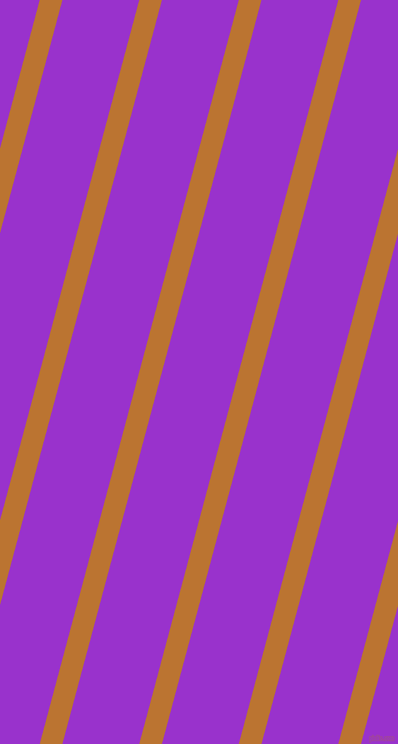 75 degree angle lines stripes, 31 pixel line width, 105 pixel line spacing, Meteor and Dark Orchid angled lines and stripes seamless tileable