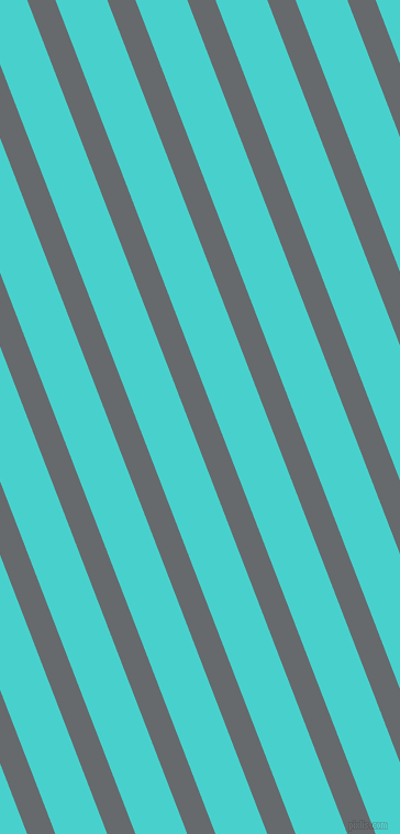 111 degree angle lines stripes, 24 pixel line width, 44 pixel line spacing, Mid Grey and Medium Turquoise angled lines and stripes seamless tileable