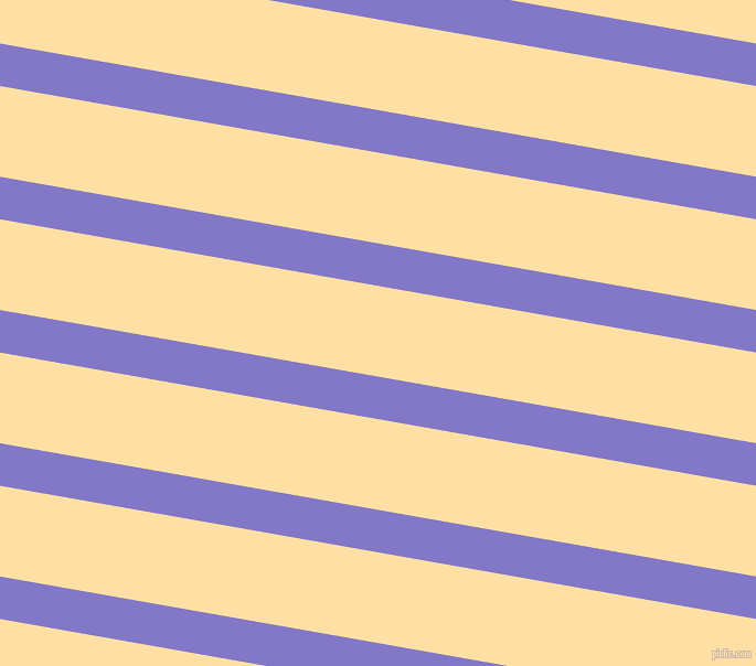 170 degree angle lines stripes, 38 pixel line width, 81 pixel line spacing, Moody Blue and Cape Honey angled lines and stripes seamless tileable