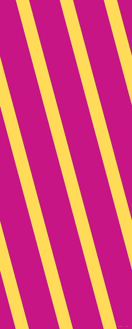 105 degree angle lines stripes, 43 pixel line width, 99 pixel line spacing, Mustard and Medium Violet Red angled lines and stripes seamless tileable
