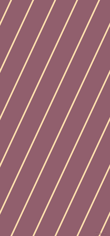 65 degree angle lines stripes, 5 pixel line width, 59 pixel line spacing, Navajo White and Mauve Taupe angled lines and stripes seamless tileable