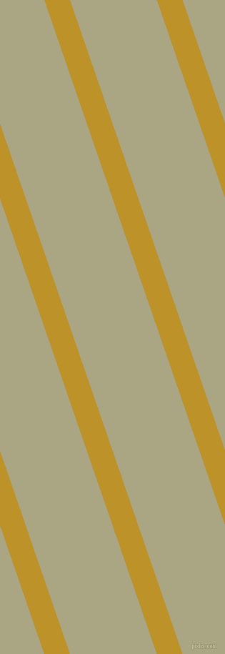 109 degree angle lines stripes, 34 pixel line width, 115 pixel line spacing, Nugget and Neutral Green angled lines and stripes seamless tileable
