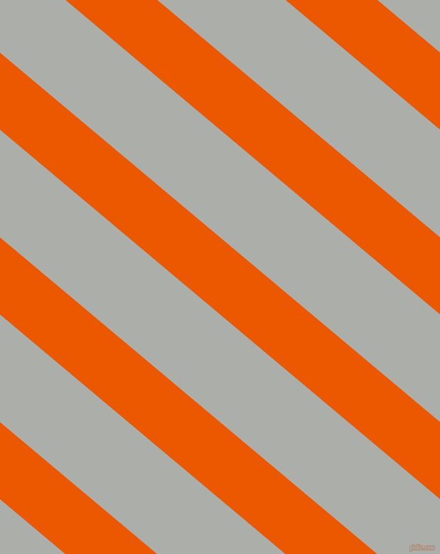 140 degree angle lines stripes, 83 pixel line width, 116 pixel line spacing, Persimmon and Silver Chalice angled lines and stripes seamless tileable