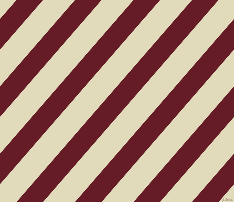 49 degree angle lines stripes, 68 pixel line width, 82 pixel line spacing, Pohutukawa and Coconut Cream angled lines and stripes seamless tileable