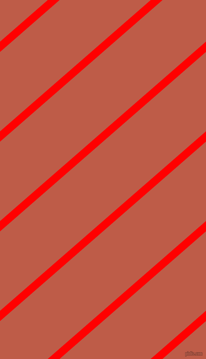 41 degree angle lines stripes, 16 pixel line width, 123 pixel line spacing, Red and Flame Pea angled lines and stripes seamless tileable