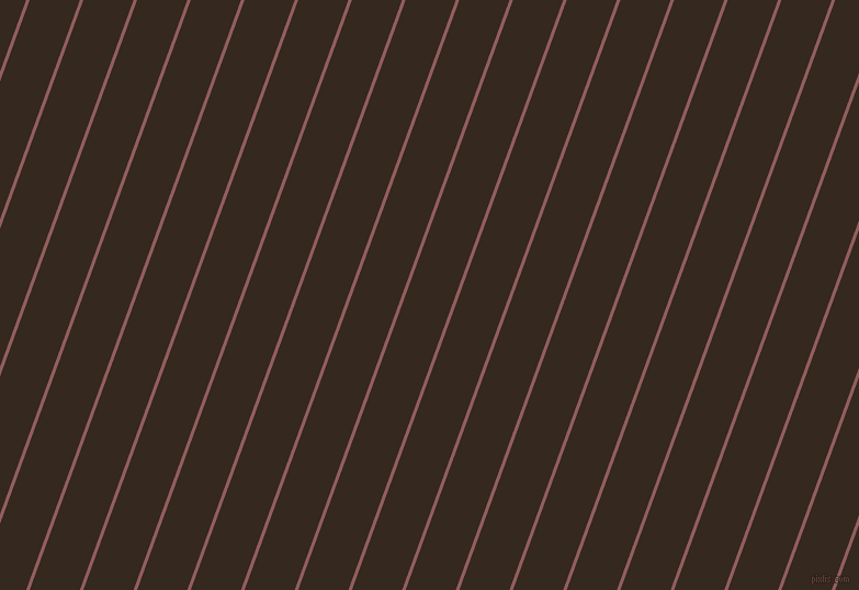 70 degree angle lines stripes, 3 pixel line width, 43 pixel line spacing, Rose Taupe and Cocoa Brown angled lines and stripes seamless tileable