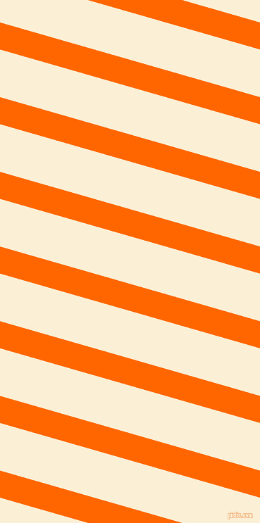164 degree angle lines stripes, 37 pixel line width, 65 pixel line spacing, Safety Orange and Half Dutch White angled lines and stripes seamless tileable