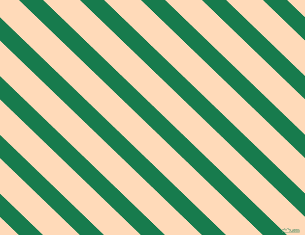 136 degree angle lines stripes, 34 pixel line width, 52 pixel line spacing, Salem and Peach Puff angled lines and stripes seamless tileable