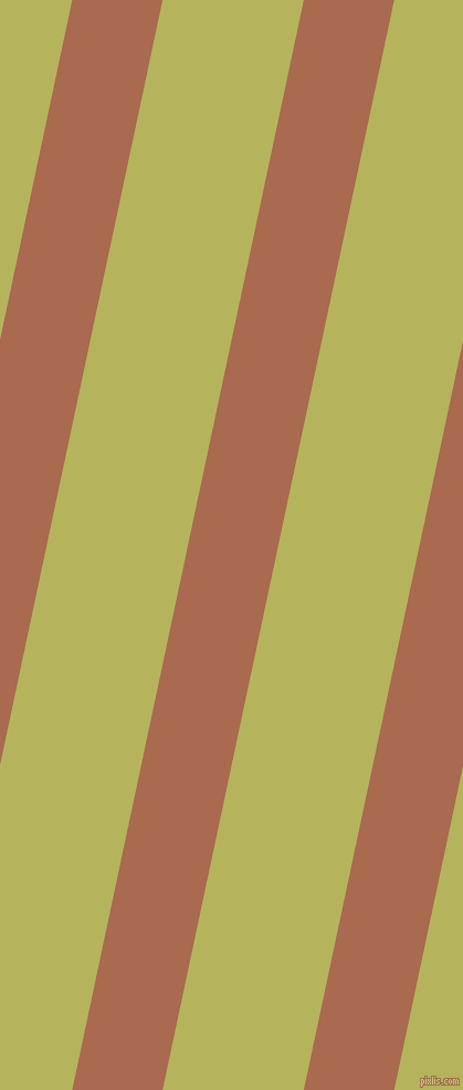78 degree angle lines stripes, 80 pixel line width, 125 pixel line spacing, Sante Fe and Olive Green angled lines and stripes seamless tileable