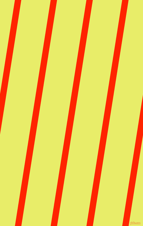 81 degree angle lines stripes, 22 pixel line width, 101 pixel line spacing, Scarlet and Honeysuckle angled lines and stripes seamless tileable