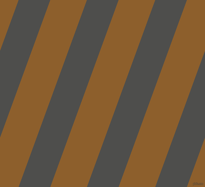 70 degree angle lines stripes, 103 pixel line width, 119 pixel line spacing, Ship Grey and Rusty Nail angled lines and stripes seamless tileable