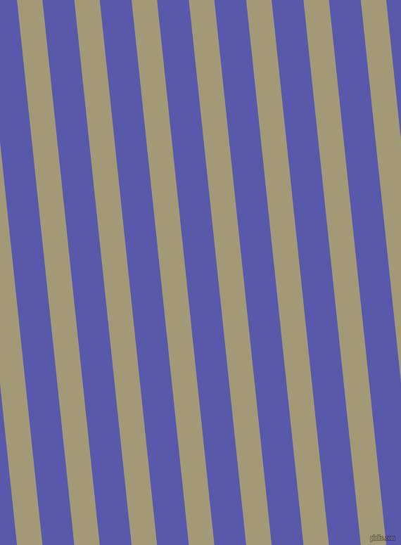 96 degree angle lines stripes, 36 pixel line width, 45 pixel line spacing, Tallow and Rich Blue angled lines and stripes seamless tileable