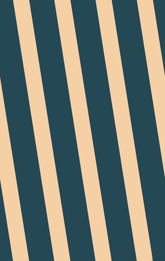 99 degree angle lines stripes, 56 pixel line width, 87 pixel line spacing, Tequila and Teal Blue angled lines and stripes seamless tileable