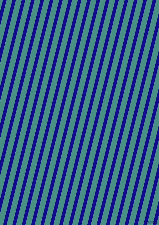 76 degree angle lines stripes, 11 pixel line width, 18 pixel line spacing, Ultramarine and Lochinvar angled lines and stripes seamless tileable