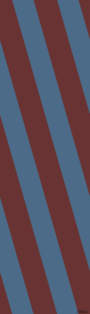 106 degree angle lines stripes, 71 pixel line width, 78 pixel line spacing, Wedgewood and Persian Plum angled lines and stripes seamless tileable