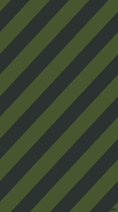 47 degree angle lines stripes, 48 pixel line width, 51 pixel line spacing, Woodsmoke and Clover angled lines and stripes seamless tileable