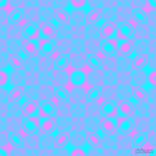 , Aqua and Fuchsia Pink cellular plasma seamless tileable