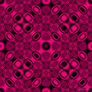 , Black and Deep Pink cellular plasma seamless tileable