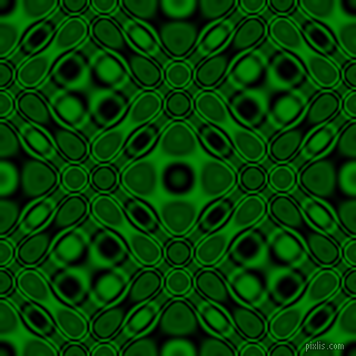 , Black and Green cellular plasma seamless tileable