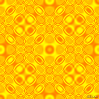 , Dark Orange and Yellow cellular plasma seamless tileable