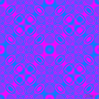, Dodger Blue and Magenta cellular plasma seamless tileable