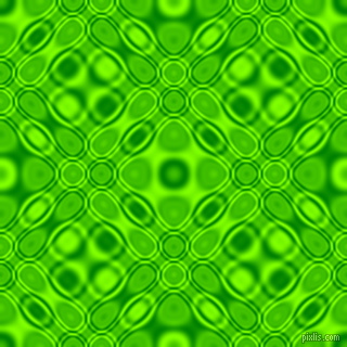 Green and Chartreuse cellular plasma seamless tileable