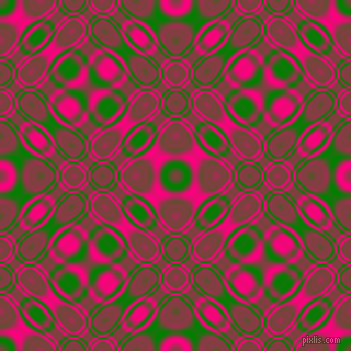 Green and Deep Pink cellular plasma seamless tileable