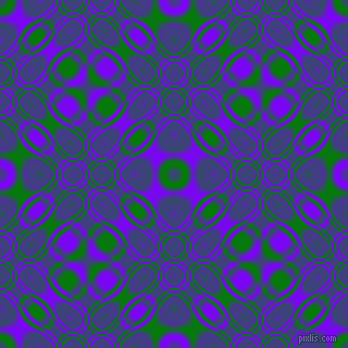 , Green and Electric Indigo cellular plasma seamless tileable
