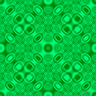 , Green and Spring Green cellular plasma seamless tileable